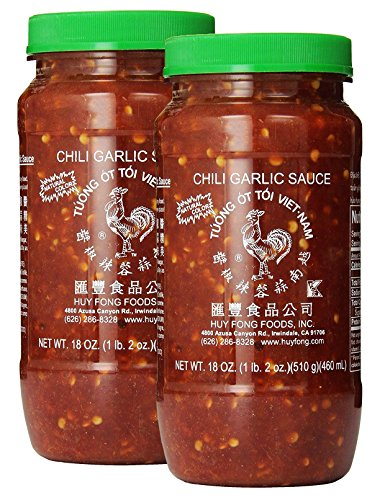 Lee Kum Kee Hoisin Sauce / Huy Fong Chili Garlic Sauce (Chili Garlic Sauce X - Asian Sauce Garlic