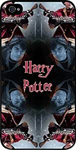 Harry Potter Kaleidescope - Hard Black Plastic Snap - On Case -Apple iPhone 4/4s ONLY- Great Quality!