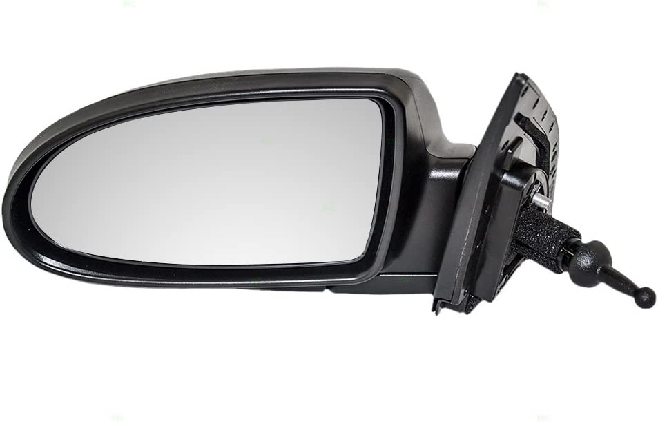 Brock Drivers Manual Remote Side View Mirror Replacement for Hyundai Accent 87610-1E010
