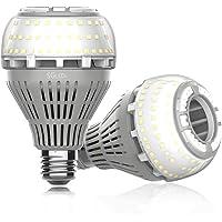 2-Pack GLEDs 27W 5000K LED Bulbs (Warm White)