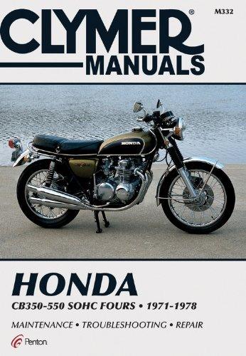 Clymer Workshop Manual Honda CB400 CM400 CB450 CM450 CMX 1978-1987 Service Repai