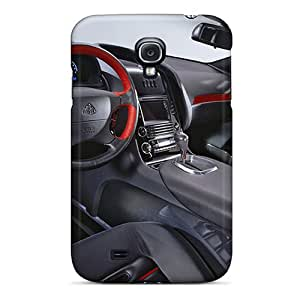 New Snap-on LisCFrazi Skin Case Cover Compatible With Galaxy S4- Maybach Exelero