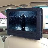 Car Headrest Mount Holder for DBPOWER 9.5'' Portable DVD Player with Swivel & Flip Screen - Black