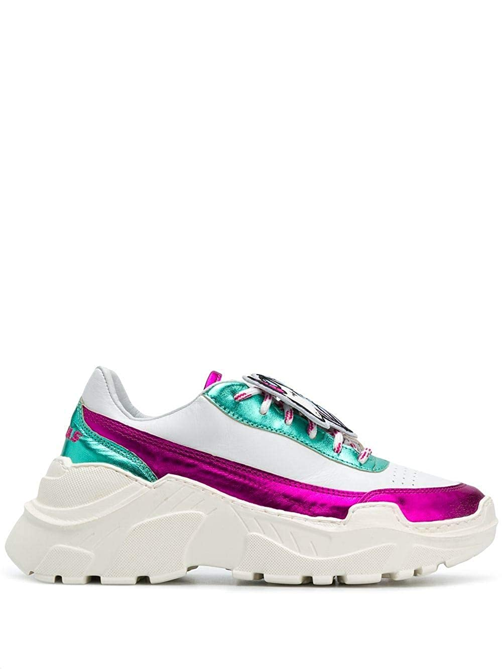 - JOSHUA SANDERS Women's 10584IRENE White Leather Sneakers