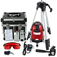 Kaitian Laser Level Self-leveling Rotary Slope Laser System Tripod with Outdoor Receiver