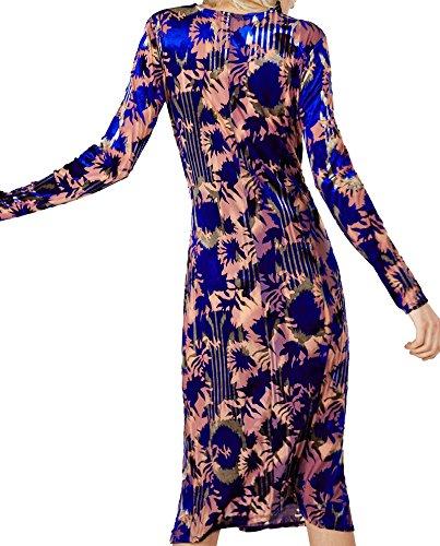 Zara Donna Vestito velluto drappeggiato 2712/006