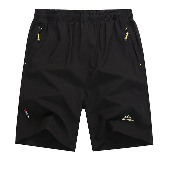 ZhuiKun Militar De Trabajo Pantalones Cortos de Estilo Informal Bermudas  para Hombre  Amazon.es  Ropa y accesorios 59ebde64eaee