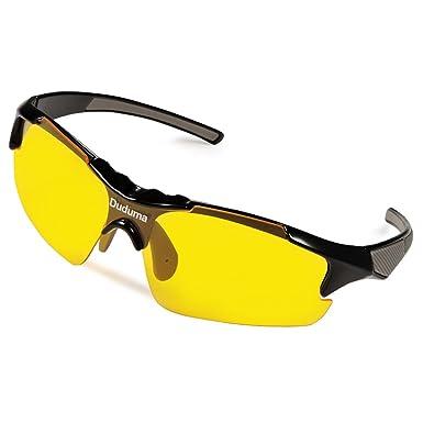 Duduma Gafas de Sol Deportivas Polarizadas Lente Amarilla Visión Nocturna Para Esquiar Golf Correr Ciclismo TR46 Súper Liviana Para Hombre y Mujer
