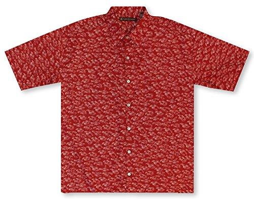 Tori Richard Bisque Cotton Lawn Camp Shirt - - Shopping Map French Quarter
