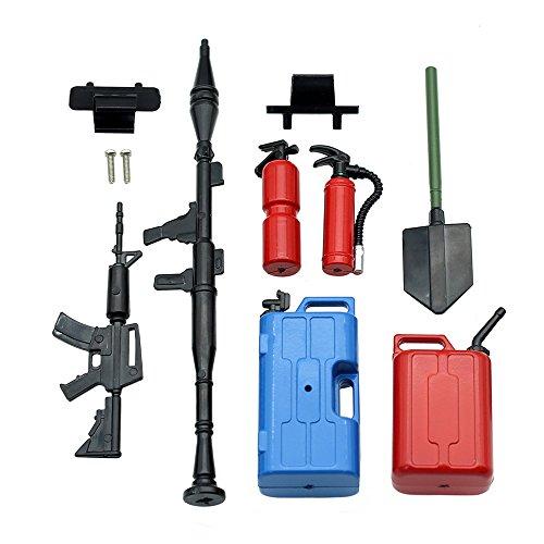 7Pcs RC Crawler Accessories Tool Set Kit,1 10 RC Decoration, RC4WD Axial SCX10 Tamiya Décor