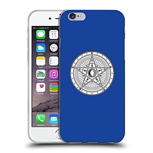GoGoMobile Coque de Protection TPU Silicone Case pour // Q09730613 Mystique occulte 22 Bleu // Apple iPhone 6 4.7""