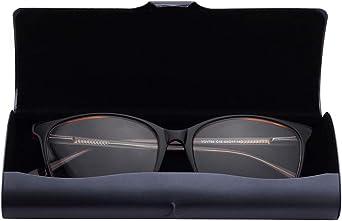 custodia per occhiali sottile in alluminio Philley rigida con panno per uomini e donne leggera