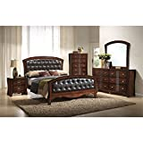 Elements Jansen 6 Piece Queen Bedroom Set in Espresso