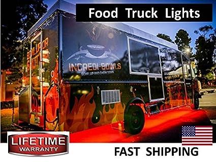 Amazoncom Blue Food Truck Food Cart Ice Cream Truck