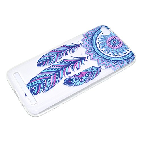 Funda Xiaomi Redmi 5A Carcasa Suave TPU Oududianzi Funda Transparente Claro Crystal Bling Case Soft Silicone Case Cover Caso Anti Rasguños Anti Choque Carcasa Protectora Funda protectora de silicona p Campanas de viento