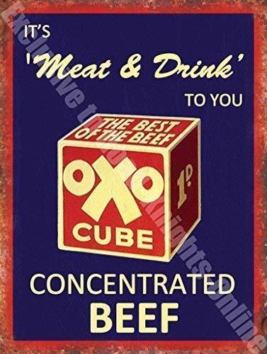 OXO Cubo Carne & Bebida Concentrado Ternera Cocina Vintage ...