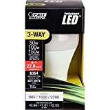 Feit Electric A50/150/LEDG2 50/100 /150W Equivalent 3-Way LED Light Bulb, Soft White