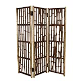 Phat Tommy Indoor or Outdoor 3 Panel Screen Room Divider – for Privacy in Backyard, Garden & Patio Furniture