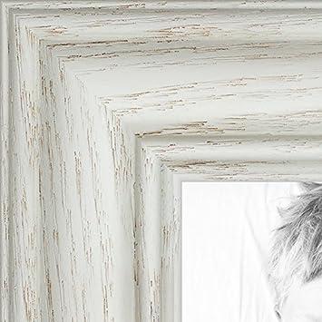 arttoframes 10x20 inch off white wash on ash wood picture frame wom0151 59504 - White Wood Picture Frames