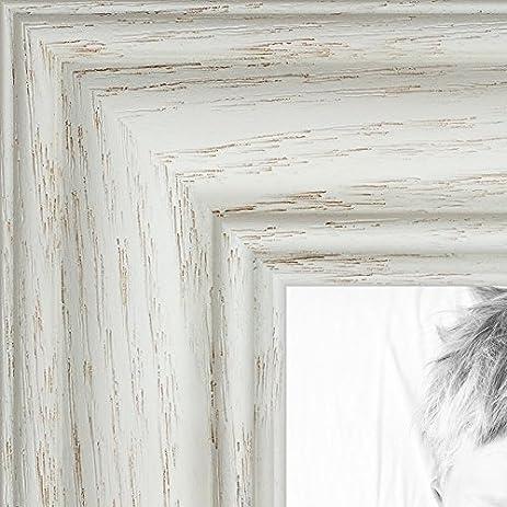 Amazon.com - ArtToFrames 16x16 inch Off White Wash on Ash Wood ...