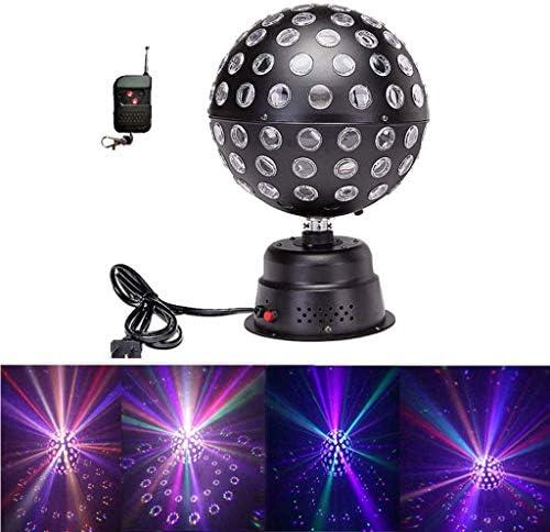 IhDFR ディスコボールライト、サウンドは1リモコンワイヤレスDJの照明舞台時限ムードライトステージライトホームダンス誕生日DJバーでは2でパーティーライトを活性化9色