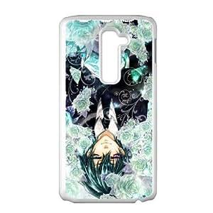 Black Butler LG G2 Cell Phone Case White VC16G958