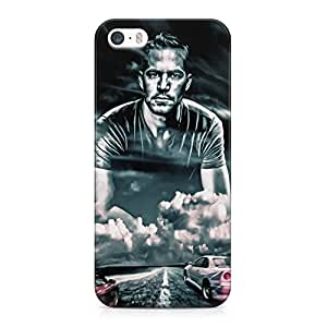 In Memory Of Paul Walker Fast And Furious 7 Hard Plastic Snap-On Case Cover For iPhone 5 And iPhone 5s