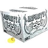 Valken Infinity Paintballs, Yellow/Yellow, .68 Caliber, 2,000 paintballs