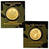 2014 Canada 50 Cents -- 1 gram Canadian Gold