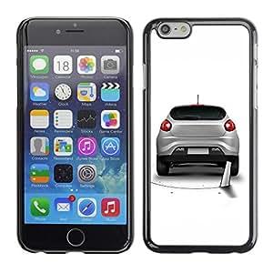 Be Good Phone Accessory // Dura Cáscara cubierta Protectora Caso Carcasa Funda de Protección para Apple Iphone 6 Plus 5.5 // Funny Saw Car Prank Hole