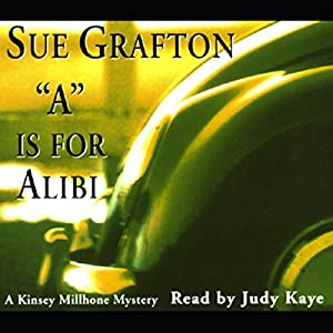 A is for Alibi Audiobook