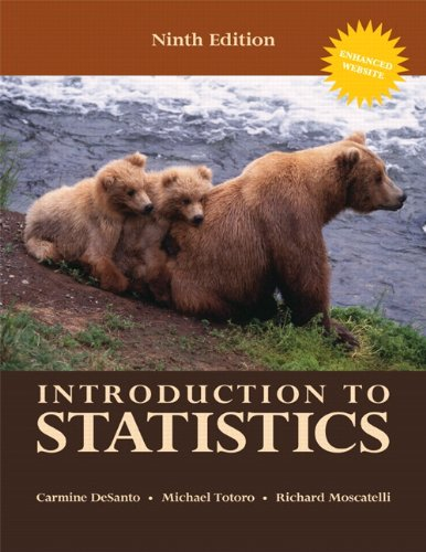 Introduction to Statistics (9th Edition)