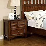 Chelsea Cottage Style Cherry Finish Bedroom Nightstand
