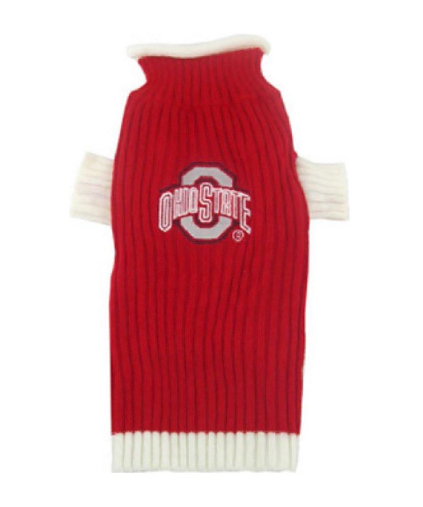 Amazon.com : Pets First Ohio State Sweater, X-Small : Dog Sweater ...
