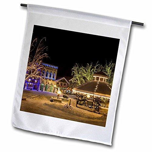 Jayne 1 Light - 3dRose fl_95169_1 Washington/Leavenworth/Christmas Holiday Lights US48 BJA0279 Jaynes Gallery Garden Flag, 12 by 18-Inch