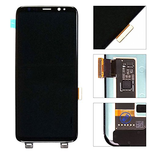 LCD display Digitizer Touch Screen Assembly For Samsung Galaxy S8 Plus Black G955A G955T G955P G955V SM-G950 G955N G955F G955U by Mr Repair Parts