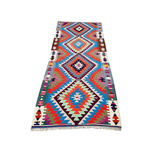 Vintage Turkish Kilim Rug - 2'8