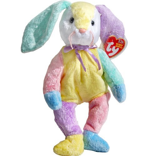 Dippy the Patchwork Easter Bunny Rabbit - Ty Beanie Babies ()
