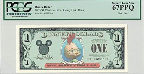 - Disney Dollar 2005 Chicken Little $1 T10068850A PCGS 67 PPQ Superb Gem New