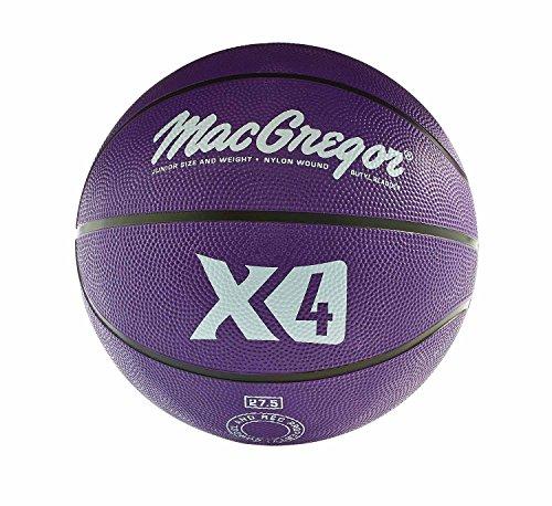 MacGregor Multicolor Basketballs  (Junior Size, Purple) (27.5 Inch Basketball)