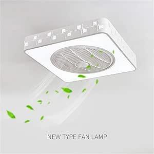 JINWELL Ventilador de techo Lámpara de techo moderna y creativa ...
