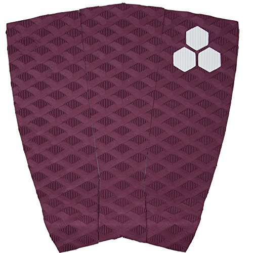 Channel Islands Surfboards Conner Coffin Traction Pad, Maroon, One (Flat Traction Pad)