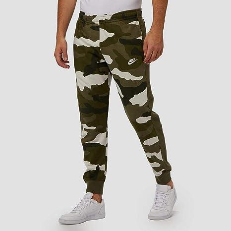 Nike Sportswear Club pantalones de camuflaje para correr para hombre Verde verde 24-28: Amazon.es: Ropa y accesorios