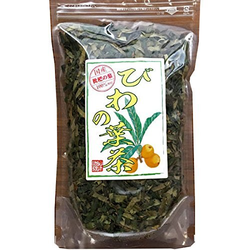Japanese Tea Shop Yamaneen Loquat-Tea Leaf Of A Without Agricultural Chemicals Non Caffeine 100G (Leaf Loquat)