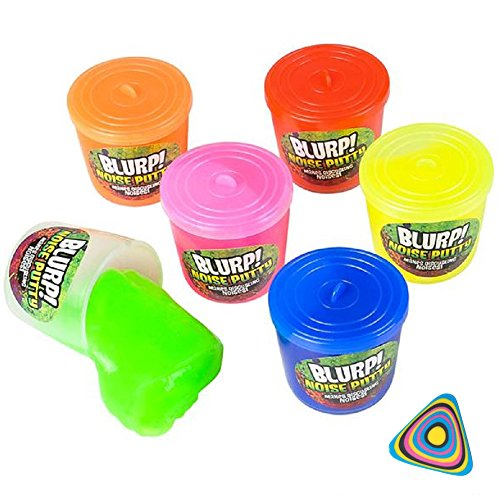 Shop Zoombie 24 Pack Small Noise Putty and 1 Vortex Eraser - Party Favors, Stocking Stuffers, Party Supplies, Prizes, Treasure Boxes, Easter Baskets