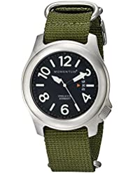 Men's Sports Watch | Steelix Nylon Watch by Momentum | Stainless Steel Watches for Men | Analog Watchwith Japanese...