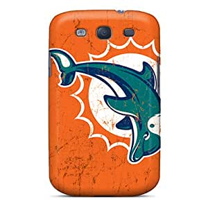 Samsung Galaxy S3 FCH13619bmPv Support Personal Customs High-definition Miami Dolphins Series Protector Hard Phone Case -RichardBingley
