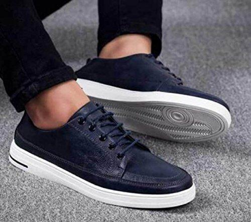 Cómodos Verano Casuales Hombres Zapatos Zapatos Moda Para Blue Hombres rpqwpXP
