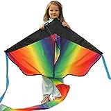 Kite Cometa Gigante a la venta – flota en la brisa – velas perfectas para niños, fácil de volar – liviano y estable | 100% garantía de devolución de dinero