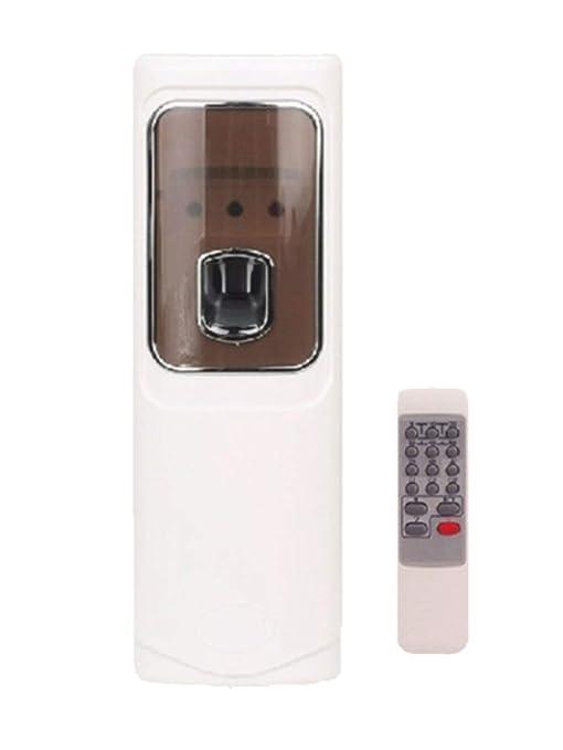 Mando a distancia Aire Ambientador automático LED aerosol pegamento dispensador montado en la pared Hotel aerosol